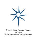 Associazione Forense - Logo Sponsor - Piceno d'autore